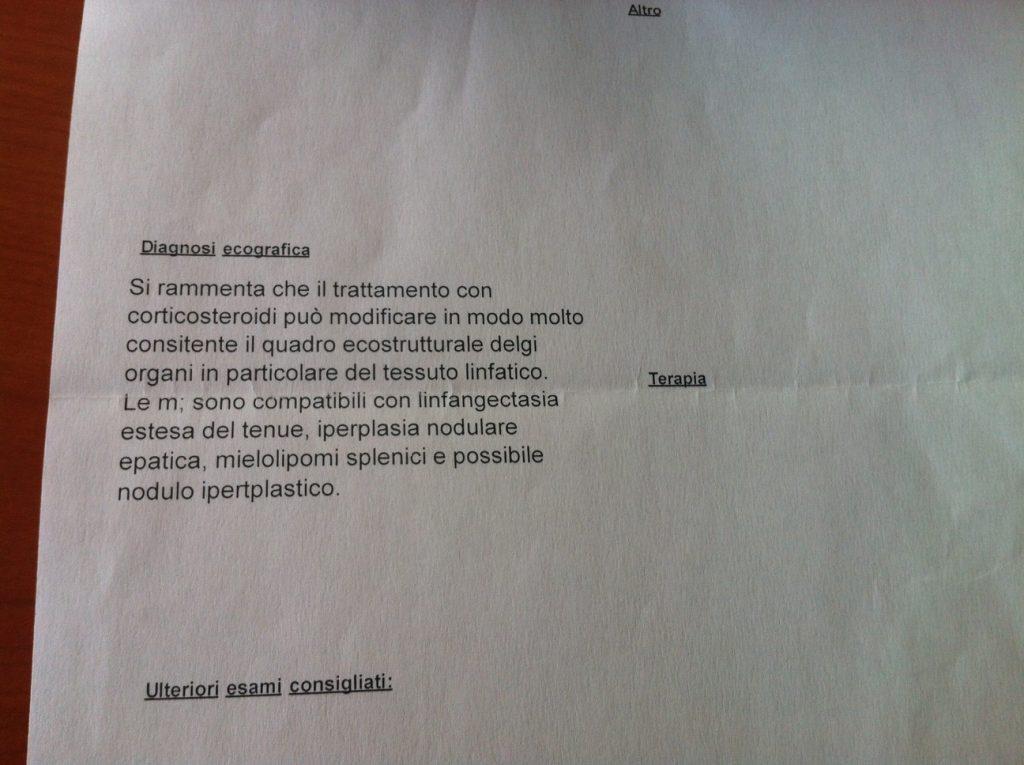 Diagnosi ecografica Pippo